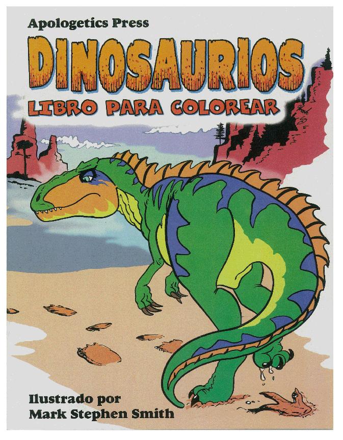 Dinosaurios Libro Para Colorear – Dallas Christian Sound