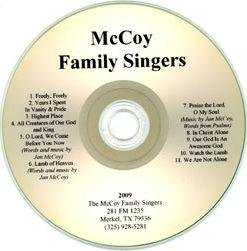 McCoy Family Singers